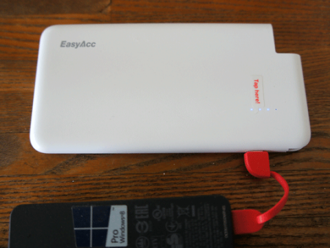 EasyAcc PB4000CB モバイルバッテリー 4000mAhのレビュー。07