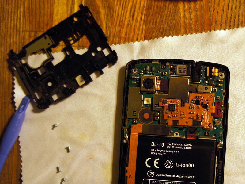 Nexus 5 DIYでバッテリー交換しました。01