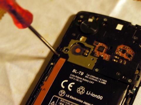 Nexus 5 DIYでバッテリー交換しました。13