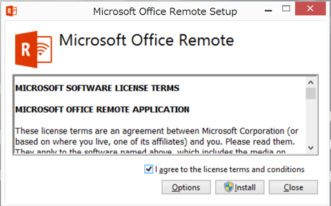 Surface Pro 3 & Office Remote for Android はテーブルプレゼンで使えそう。02