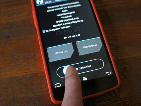 Nexus 5 Android 5.1.0(LMY47I)Root化しました。10