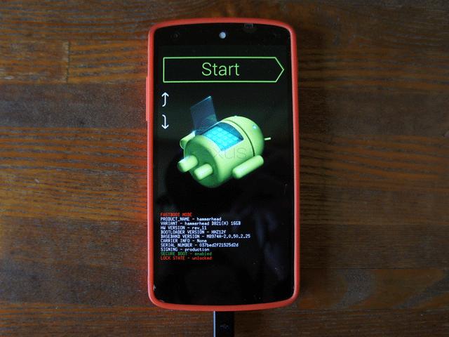 Nexus ファクリーイメージ flash-all.batエラー not contain 'boot.sig' 'recovery.sig' の対処法。01
