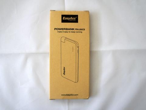 EasyAcc PB4000CB モバイルバッテリー 4000mAhのレビュー。02