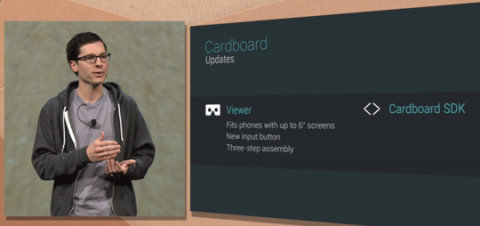 Google I/O 2015 新型端末は Google Cardboard だけ。11