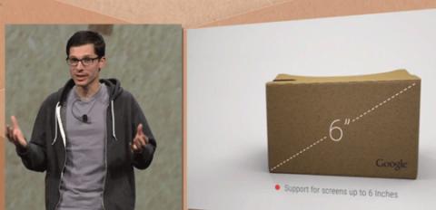 Google I/O 2015 新型端末は Google Cardboard だけ。12