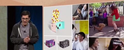 Google I/O 2015 新型端末は Google Cardboard だけ。10