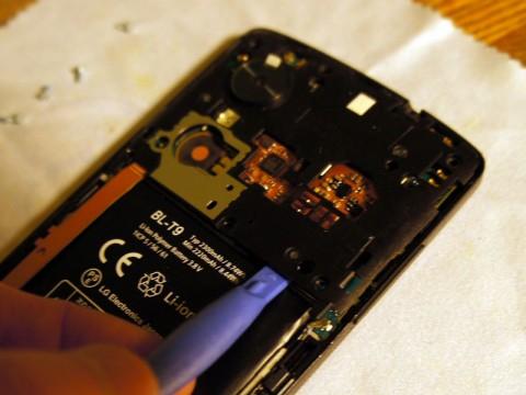 Nexus 5 DIYでバッテリー交換しました。14
