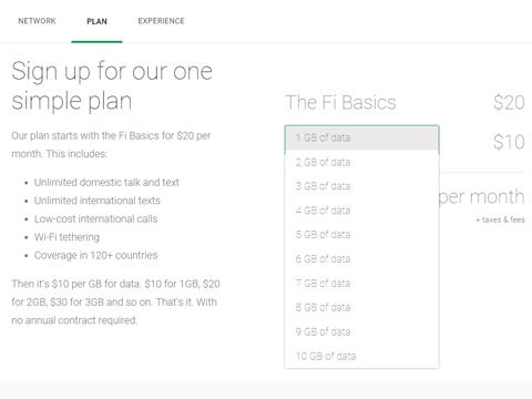GoogleのMVNOサービス Project Fi 始まる ご招待されるのか。02